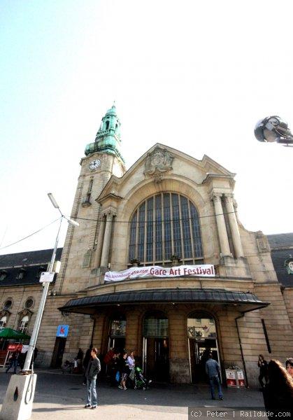 Luxembourg Railway Station Railcc