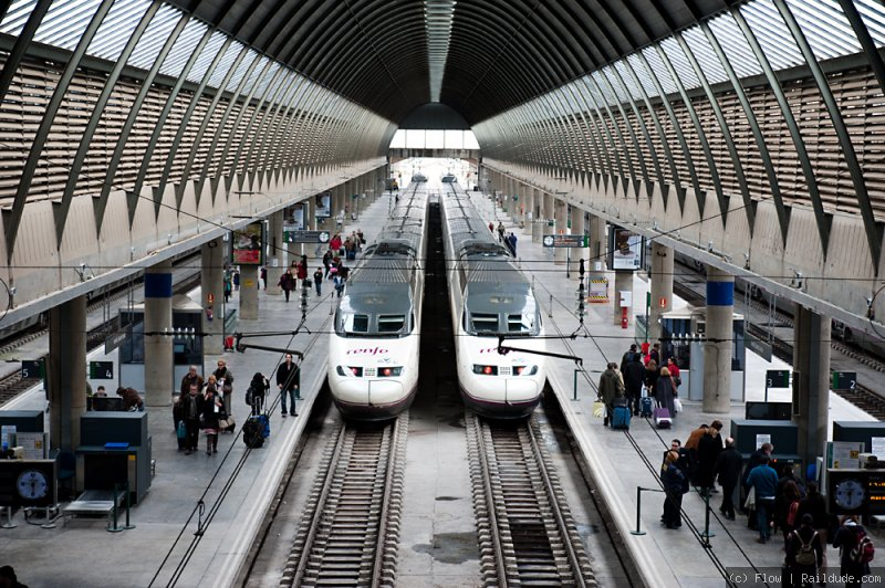 Seville Santa Justa Railway Station Railcc