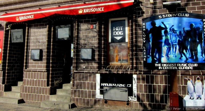 Die größte Disco Zentraleuropas: Karlovy Lazne | railcc