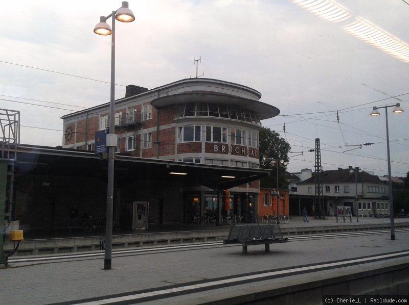 Bahnhof Bruchsal