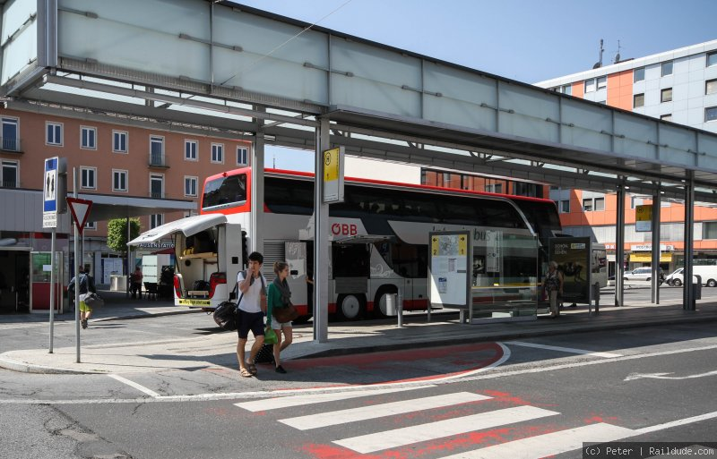 Bus from Villach to Venice