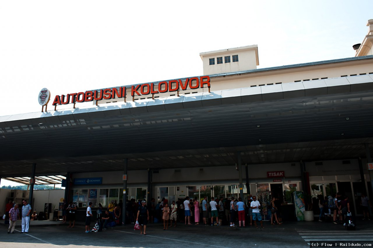 Dubrovnik Bus Station Railcc