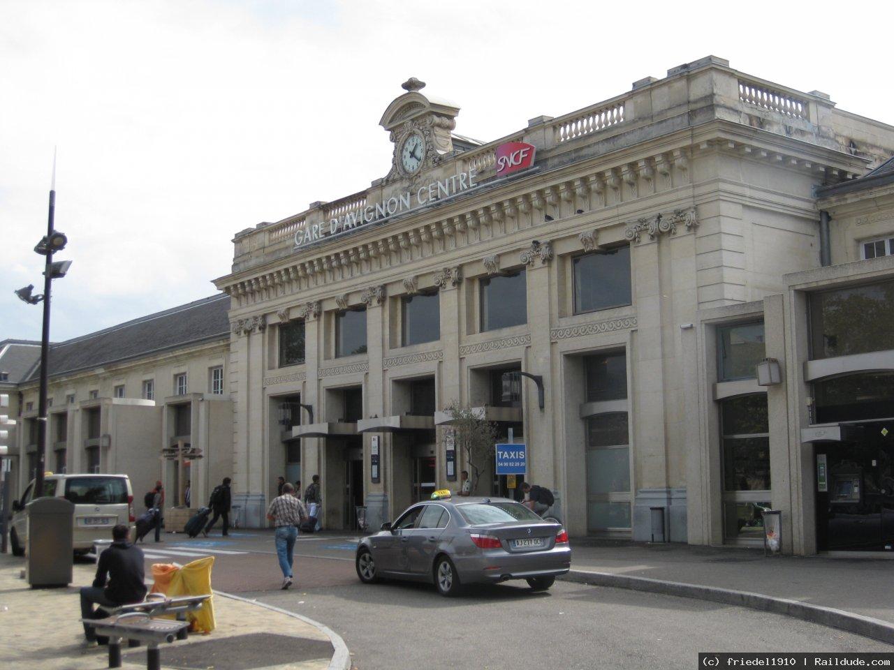 Avignon Centre Railway Station | railcc