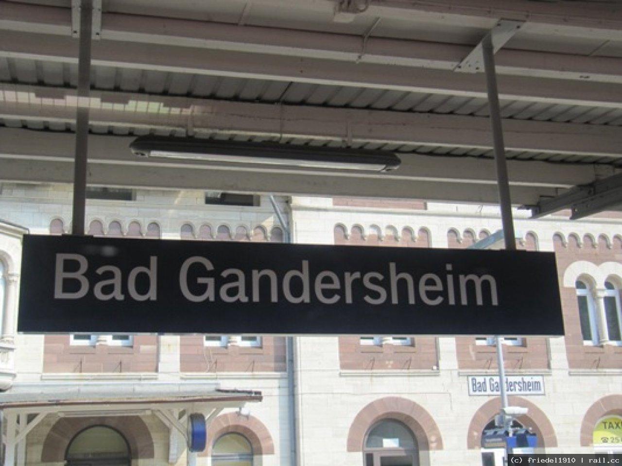 Bahnhof Bad Gandersheim | railcc