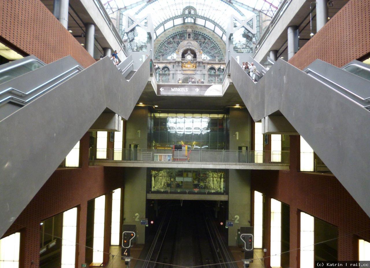 Antwerp Central Railway Station Railcc