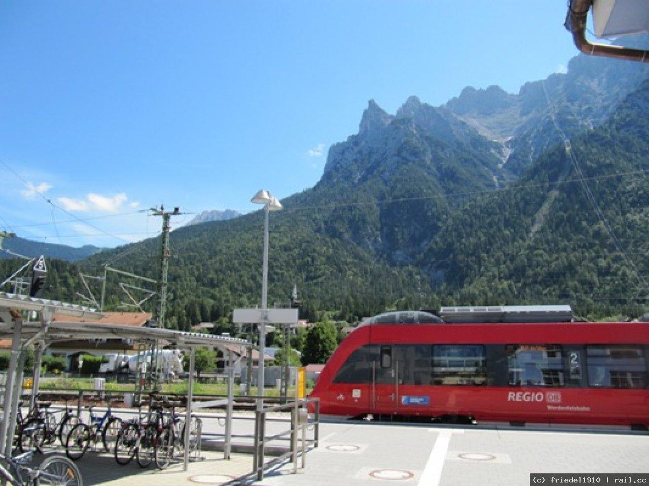 Mittenwald Reiseinformation Railcc