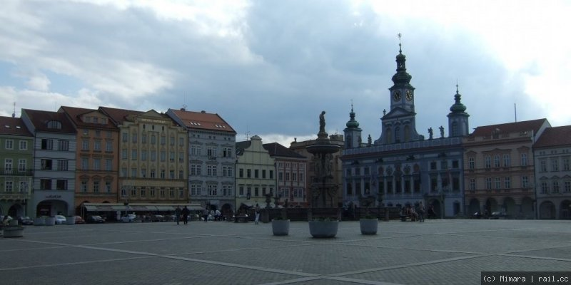 City place of Budweis