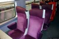 Train à Grande Vitesse (TGV) train - 2nd class
