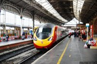 Virgin Trains (VIG) train - Pendolino at Preston