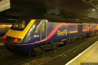 First Great Western (FGW) train - HST in old livery at Paddington