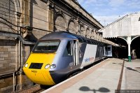 East Coast (EAC) train - HST with old National Express branding