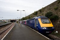First Great Western (FGW) train - HST at Penzance