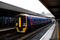 First Great Western (FGW) train - Class 159 Intercity train at Southampton