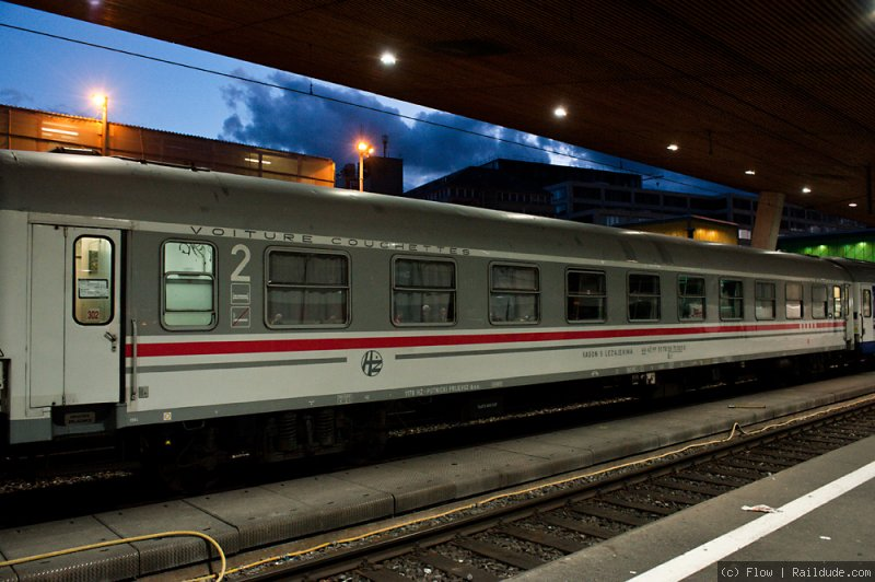 Night Train Zurich Belgrade En 415 Railcc