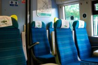 Southern (SOU) train - Class 375 interior, 1st class