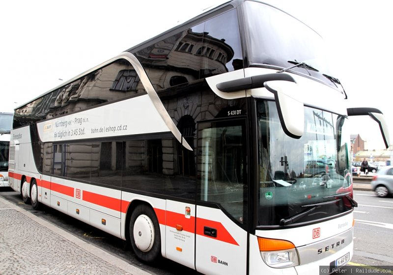 Inter City Bus Prag