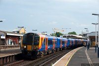 South West Trains (SWT) train - Class 450 suburban train