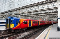 South West Trains (SWT) train - Class 455 commuter train