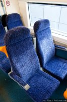 Southeastern (SEA) train - Class 375 interior