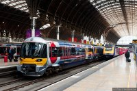 Heathrow Express (HEX) train - At Paddington