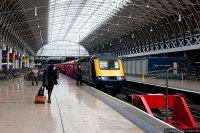 First Great Western (FGW) train - HST at Paddington