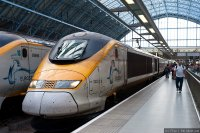 Eurostar (EST) train - At St Pancras International