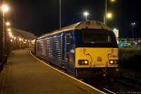 Arriva Trains Wales (ARR) train - Class 57 with Holyhead - Cardiiff express