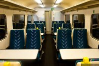 Arriva Trains Wales (ARR) train - Mark II coach interior