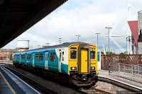 Arriva Trains Wales (ARR) train - Class 150 commuter train, Cardiff