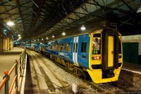Arriva Trains Wales (ARR) train - Class 158 Intercity train, Penzance