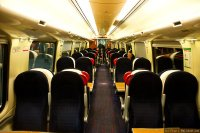 Virgin Trains (VIG) train - Super Voyager, interior