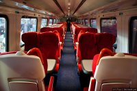East Midlands Trainsoperates (EMT) train - Meridian interior