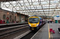 First TransPennine Express (FTPE) train - Class 185 at Carlisle