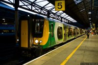 London Midland (LM) train - Class 350 at Crewe
