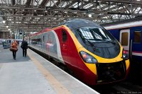 Virgin Trains (VIG) train - Pendolino at Glasgow Central