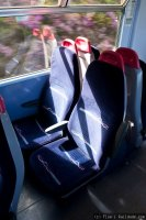 First Great Western (FGW) train - Class 150 interior