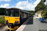First Great Western (FGW) train - Class 150 at Looe