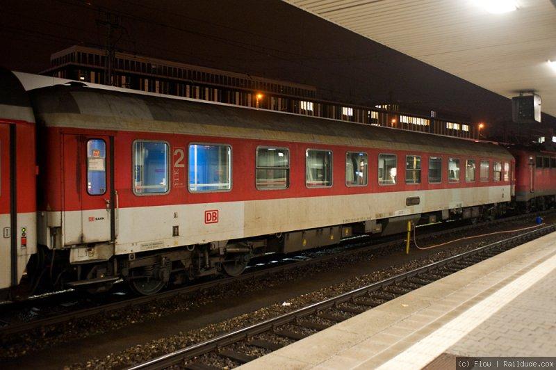 Night train Milan-Munich (NJ 40235 ) | railcc