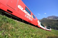 Glacier Express (GEX) train