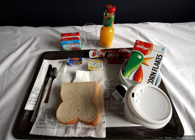 Breakfast in Sleeper