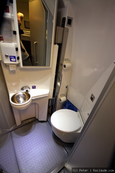 Bathroom in sleeper