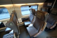 Allegro (AE) train - 1st class seats