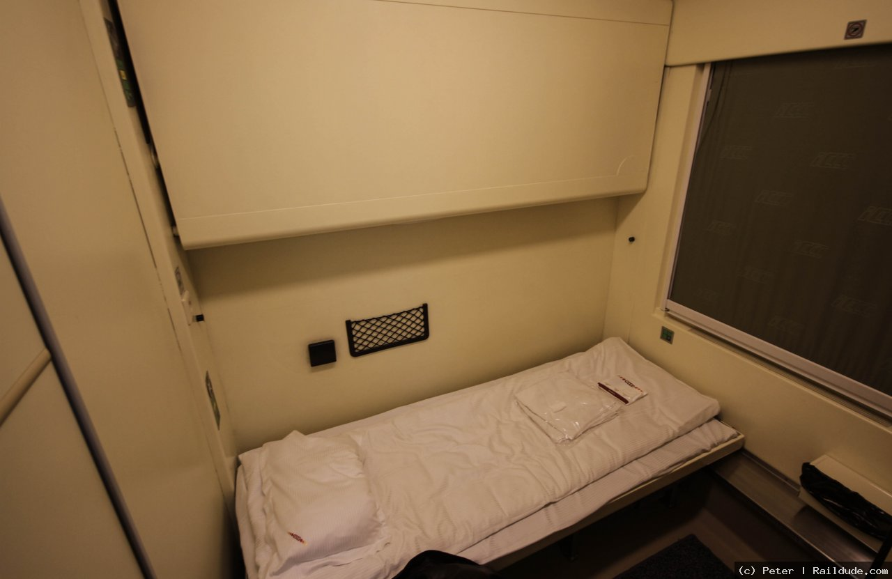 One or two beds in the sleeper