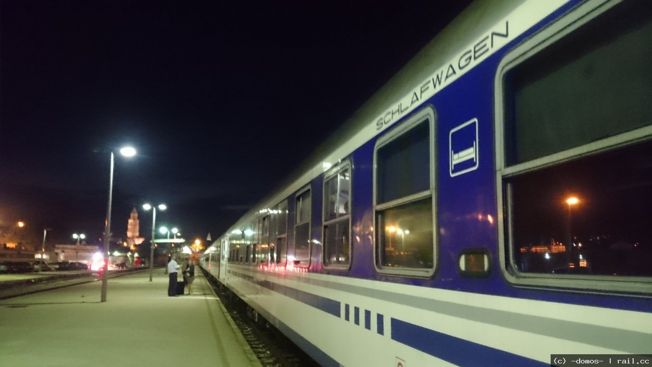 Night Train Split Zagreb B820 Railcc
