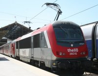 Eurocity Thello (THELLO) train
