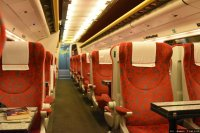 SC Pendolino (SC) train - First Class