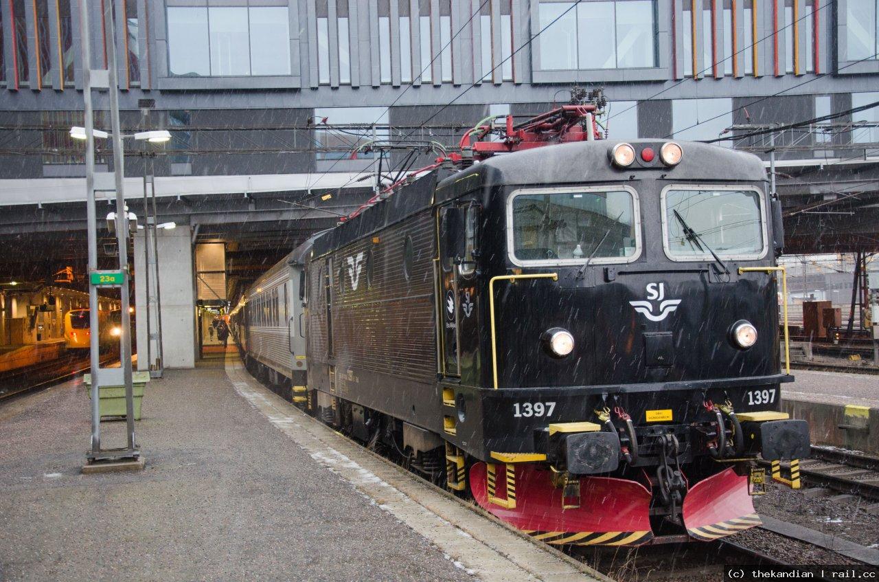 tåg till gällivare från stockholm
