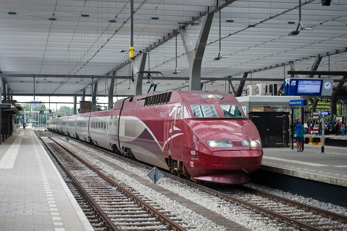 Thalys at Rotterdam Centraal.