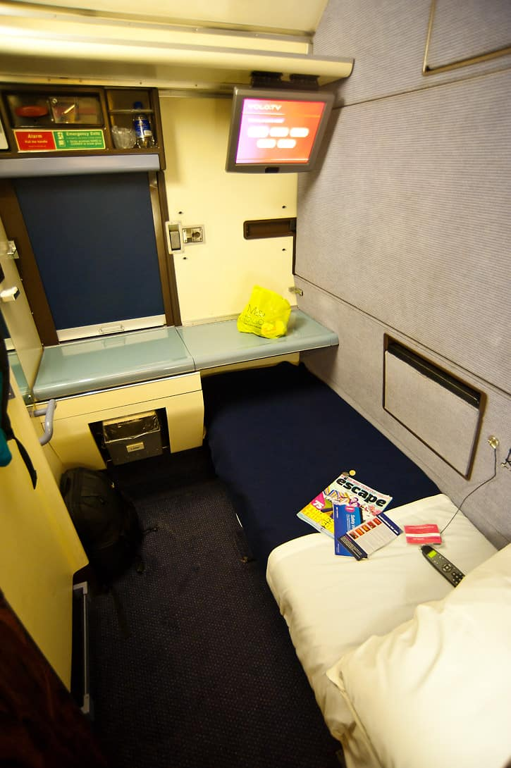 A Twin cabin would be similar, with a second bunk bed instead of the Volo TV.