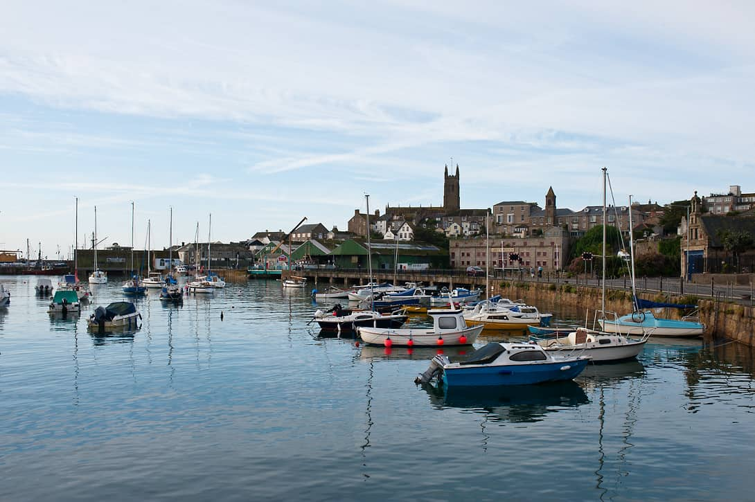The small city of Penzance is worth a short visit too.